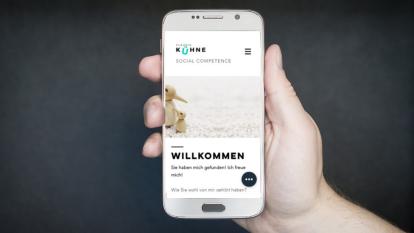 Natürlich auch im responsiven Design, optimiert für Smartphones und Co.